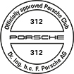 Officially approved Porsche Club 312
